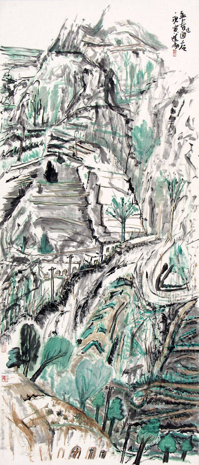 写意中国8226;中国国家画院2010大写意国画邀请展-中国山水画艺术网 - 墨舞 - 墨舞网易