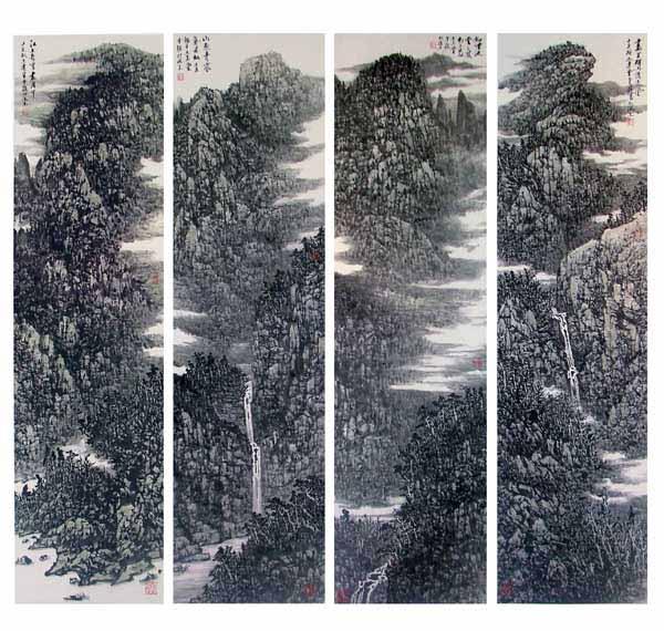 江山如画48X180CMX4 2007年
