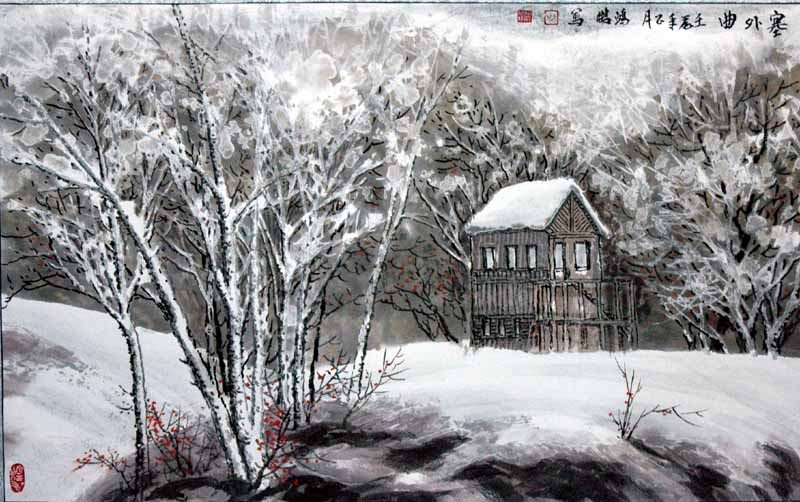 画家吴鸿鹏先生作品欣赏