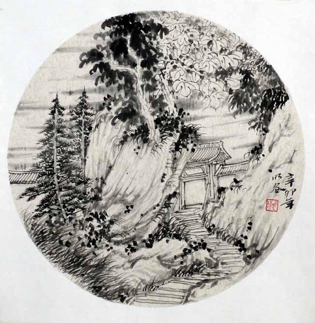 画家姜维中国画作品欣赏-小品1