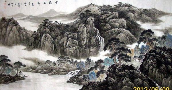 中国必威体育betway888家高潭印作品欣赏:云满玉屏