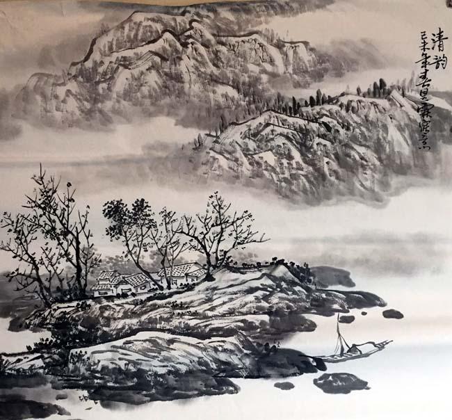 画家安明远先生作品:清韵