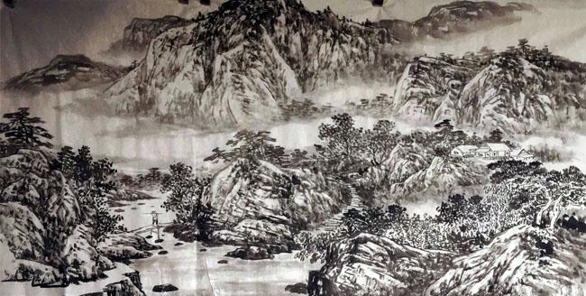 画家安明远先生作品5