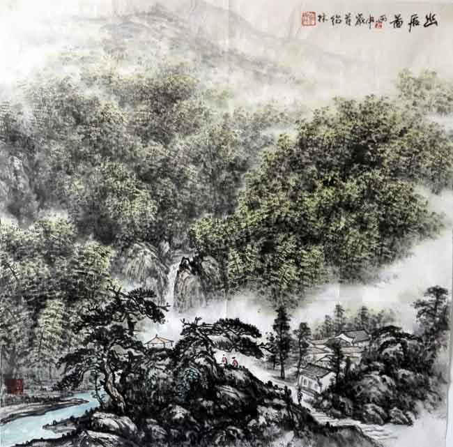 金绍林  幽居图