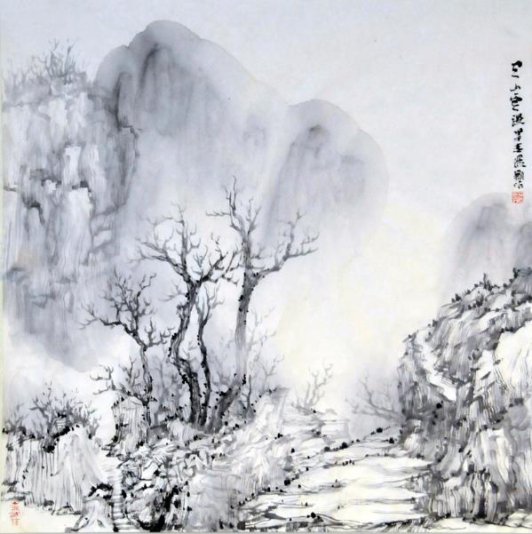 陈飞翔必威体育betway888作品:空山云谡