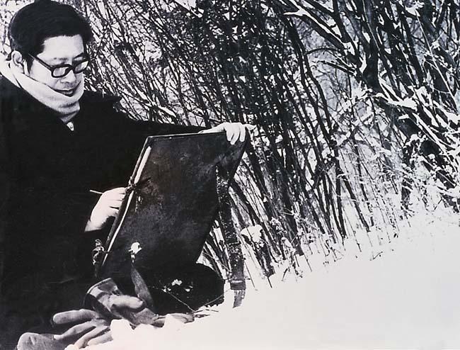 1-1980年于志学在大兴安岭古莲地区写生 (1).jpg